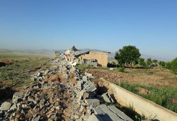 آزادسازی ۲۰۰هکتار از اراضی کشاورزی ماهدشت از چنگال متصرفان