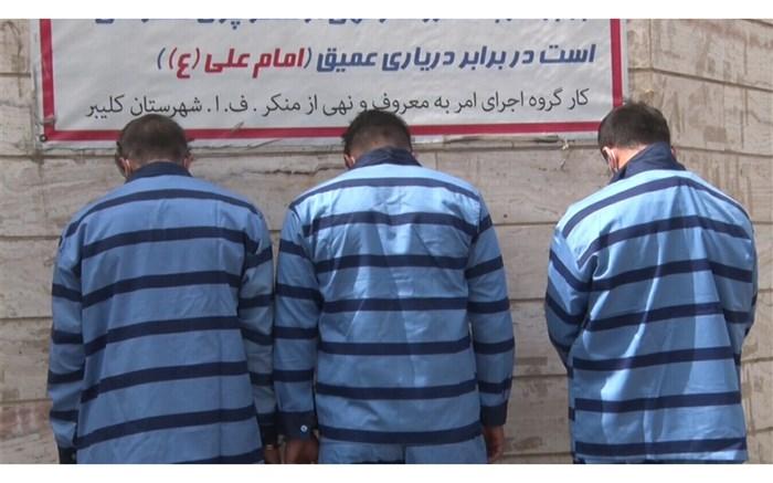 دستگیری سارقان کابلهای برق و مخابرات در کلیبر