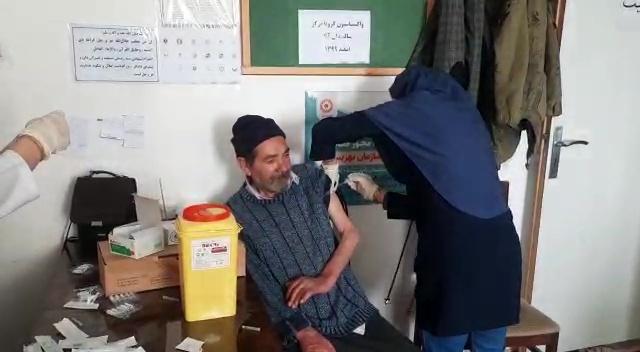 واکسیناسیون سالمندان خلخال آغاز شد
