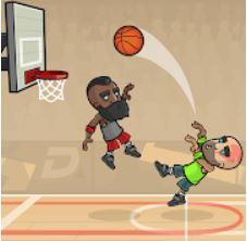 Basketball Battle؛ بسکتبال دونفره بازی کنید