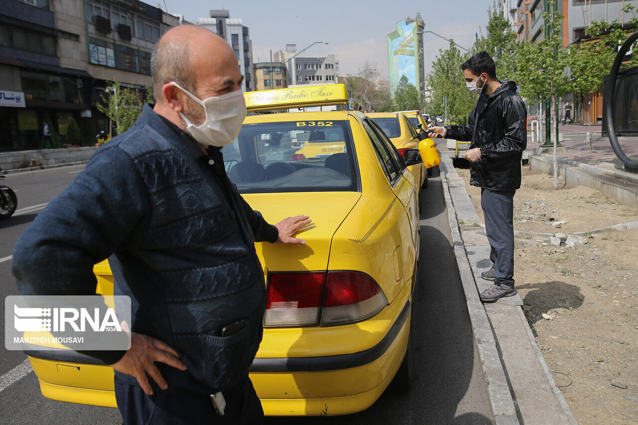کرونا ۷ میلیارد ریال به رانندگان تاکسی شیروان خسارت زد