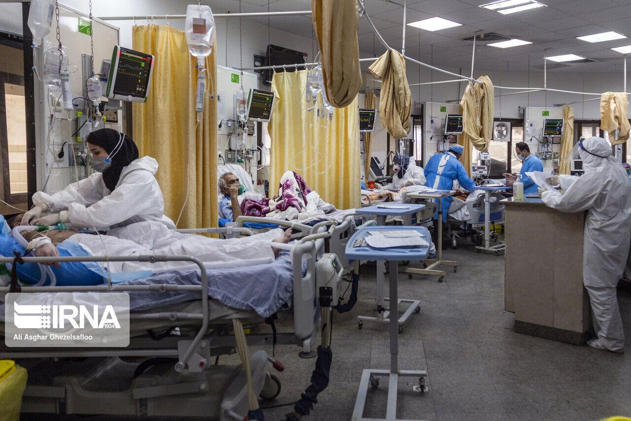 بستری شدن ۱۴۳ بیمار کووید ۱۹ در البرز