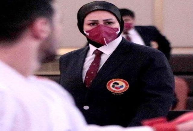 داور بانوی کاراته آذربایجانغربی دوباره عضو هیات ژوری لیگ جهانی شد