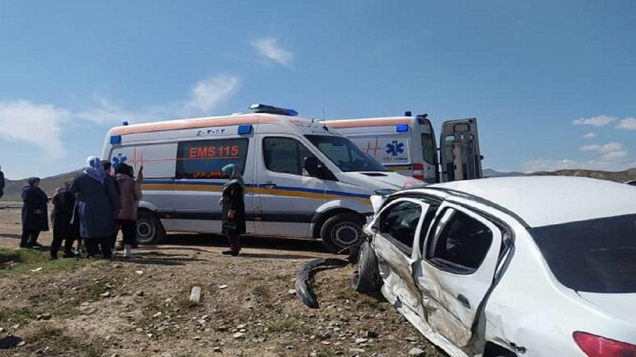 ۵ کشته و مصدوم در تصادف محور سمیرم-یاسوج