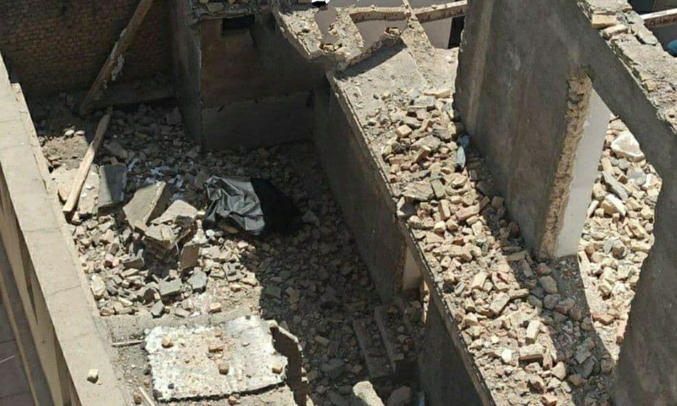 کارگر سقزی بر اثر ریزش دیوار جان خود را از دست داد