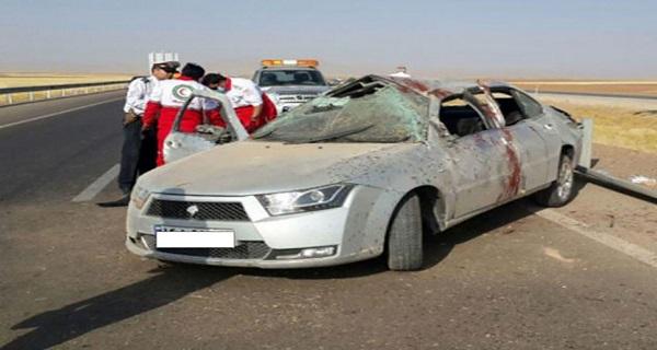 واژگونی خودرو در محور بروجرد_نهاوند ۵ کشته و مجروح برجا گذاشت