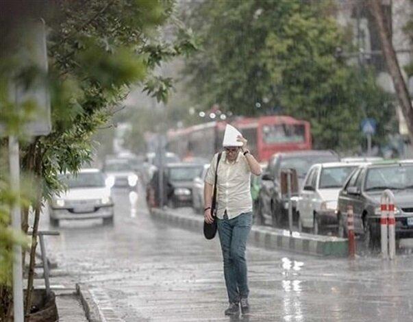 تداوم بارش باران و آبگرفتگی معابر تا روز دوشنبه در اردبیل