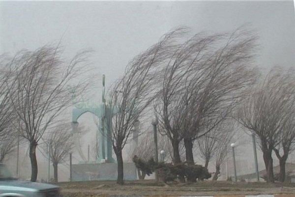 هشدار هواشناسی در خصوص وزش باد شدید در کردستان