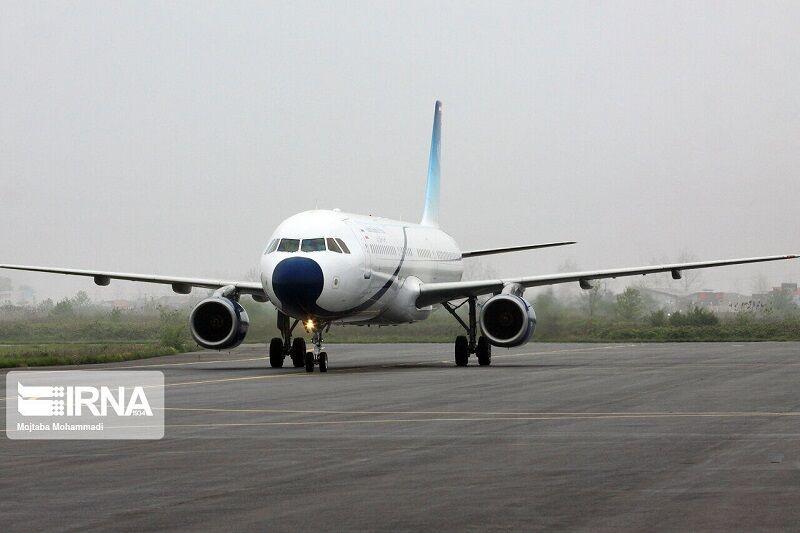 پروازهای فرودگاه سنندج افزایش یافت