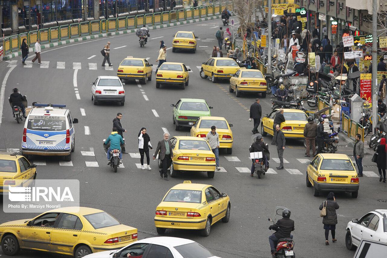کرایه تاکسی در همدان ۳۰ درصد افزایش یافت