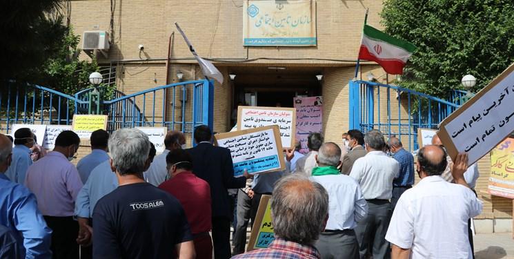 واکنش تأمین اجتماعی یزد به اعتراض کارگران: ربطی به ما ندارد!