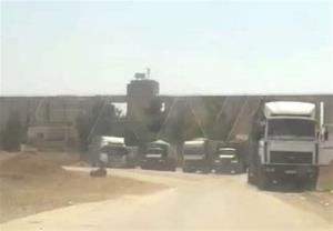 دزدیدن یک محموله جدید غلات سوریه از سوی اشغالگران آمریکایی