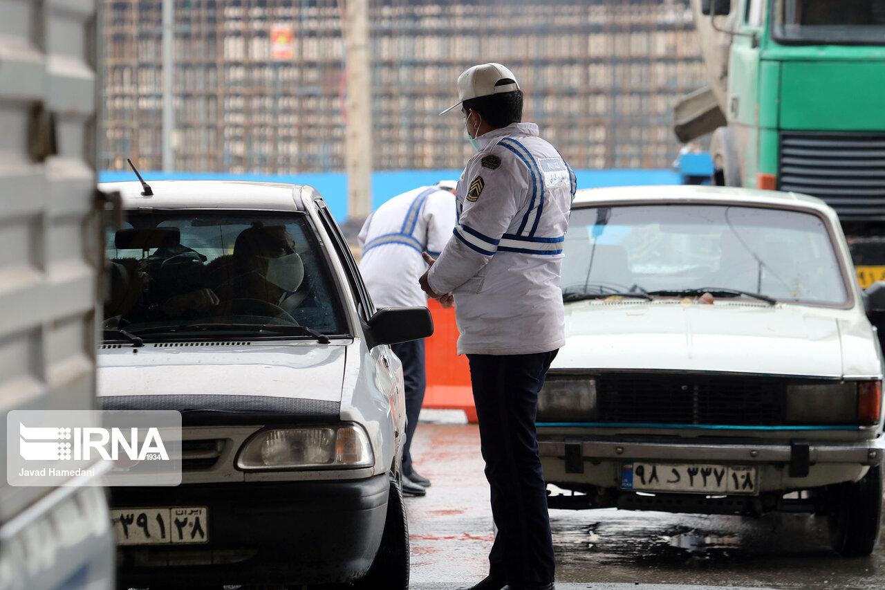 زمان محدودیتهای ترافیک در ۳ بلوار همدان تغییر کرد