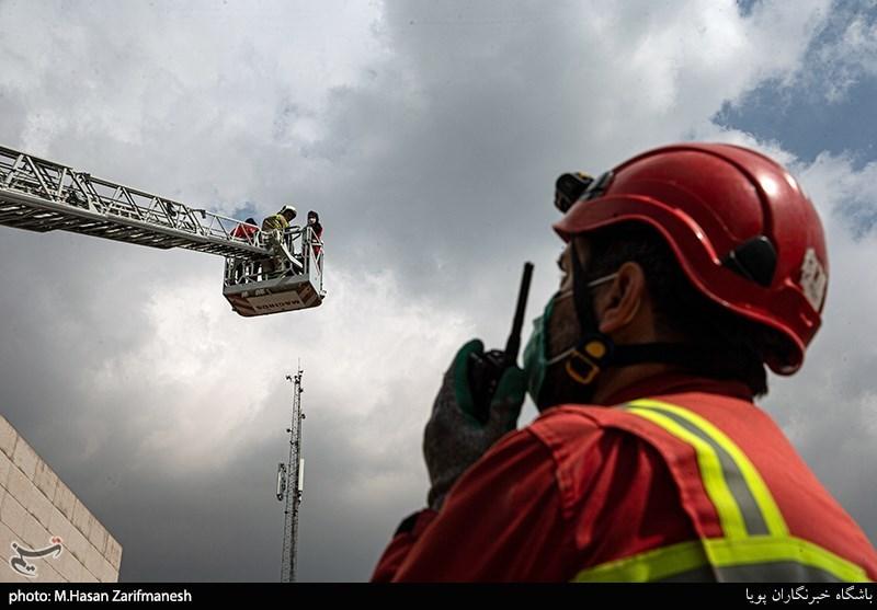 آخرین وضعیت آتشنشانان فداکار حادثه دیده در تبریز