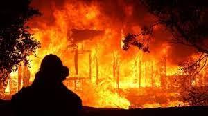 آتشسوزی منزل مسکونی در روستای زیارت گرگان