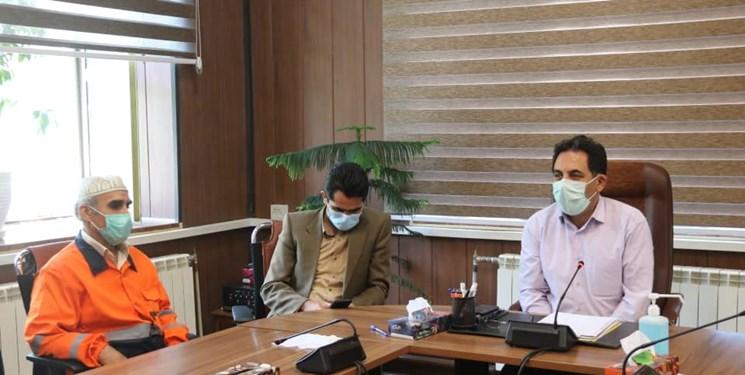 کارگران نمونه شهرداری سنندج تجلیل شدند