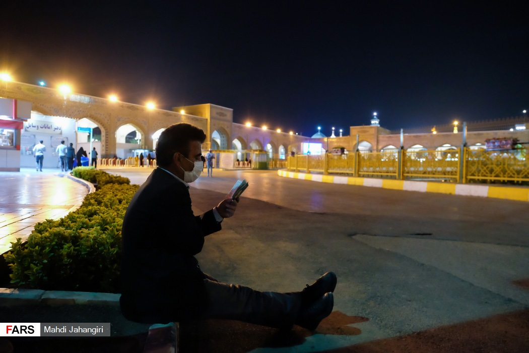 مراسم احیای شب نوزدهم رمضان در حرم مطهر رضوی