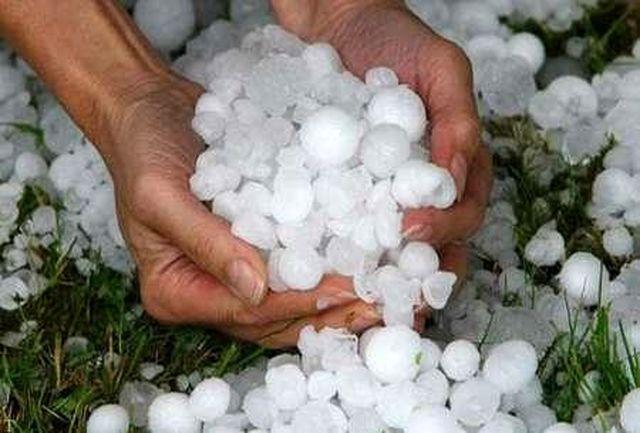 احتمال بارش تگرگ در مازندران