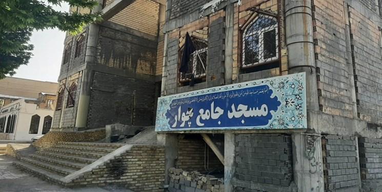 ۷ سال انتظار برای تکمیل مسجد جامع شهر چوار