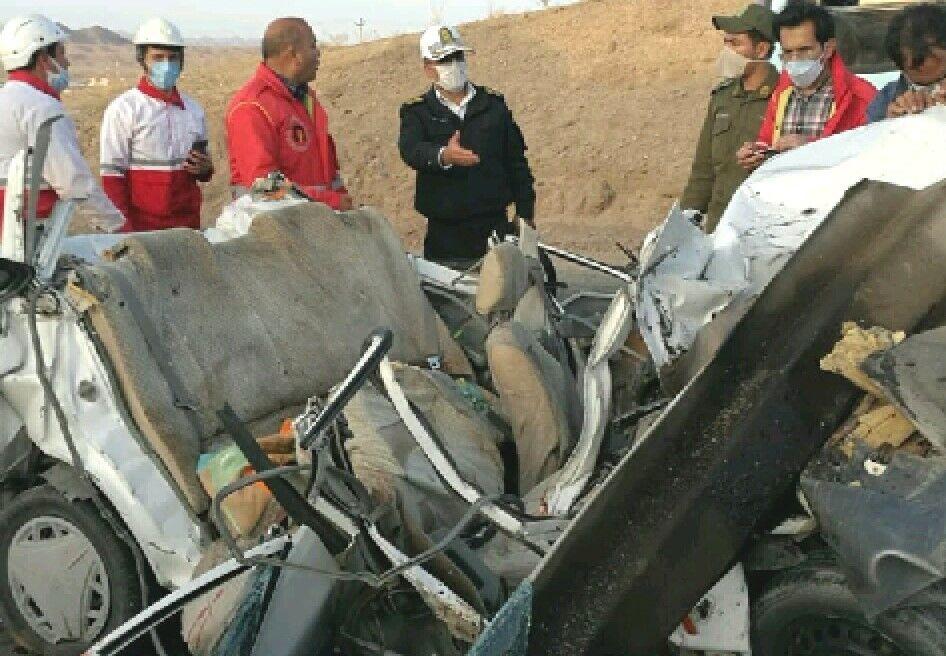 حادثه رانندگی در بروجرد ۲ کشته و ۲ مصدوم بر جا گذاشت