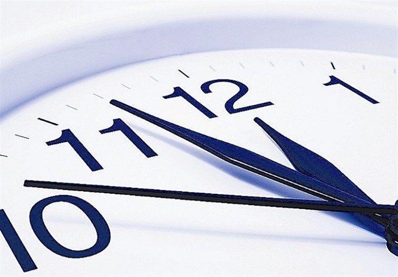 ساعت اداری در خوزستان ساعت ۹:۳۰ آغاز میشود