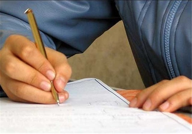 دانشآموزان زنجانی چگونه امتحان میدهند؟