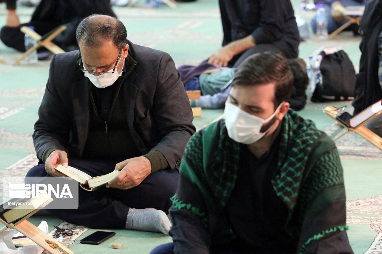 عکس/ مراسم احیای شب نوزدهم ماه رمضان در تبریز