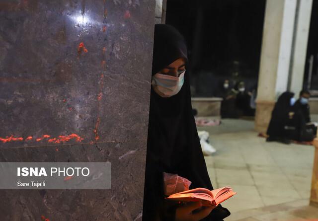 عکس/ شب نوزدهم ماه مبارک رمضان در کرمان