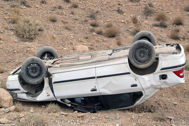 یک قربانی در حادثه رانندگی ششتمد سبزوار