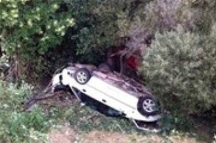 فوت مرد ۴۵ ساله بر اثر سقوط خودروی سواری به دره در تالش