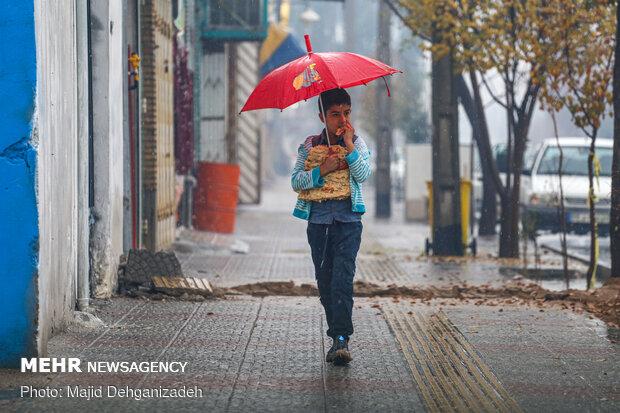 باران مهمان استان سمنان میشود