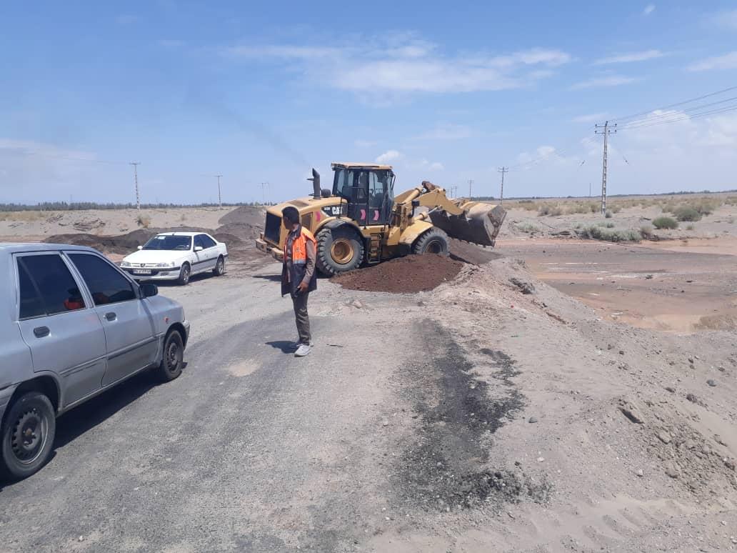 سیلاب راه ارتباطی ۱۰ روستا را در جنوب کرمان مسدود کرد