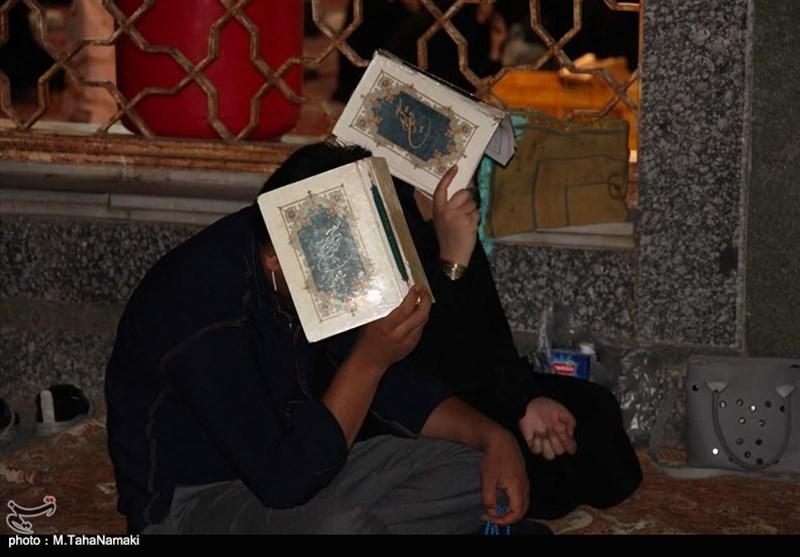 برپایی مراسم قدر در حرم هلال بن علی(ع) آرانوبیدگل به روایت تصویر