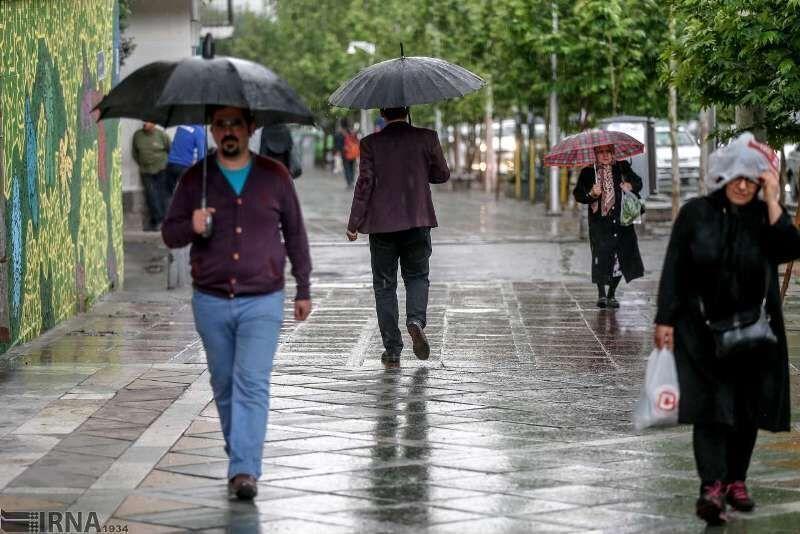 رگبار باران در آذربایجانشرقی ادامه مییابد