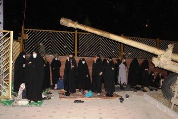 عکس/ مراسم شب قدر در ایلام