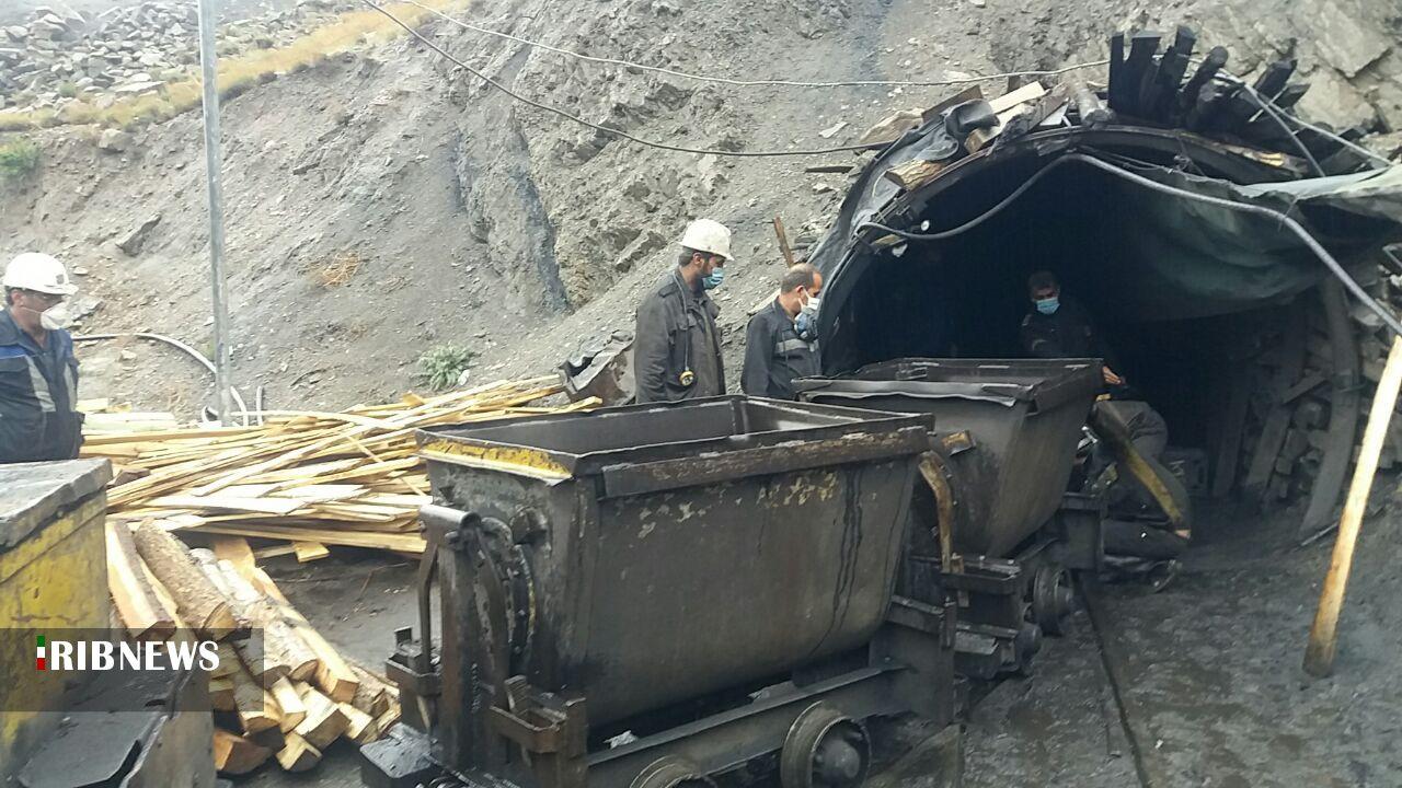 کندی عملیات امدادرسانی در معدن طزره به علت حجم زیاد آوار و تخته سنگها