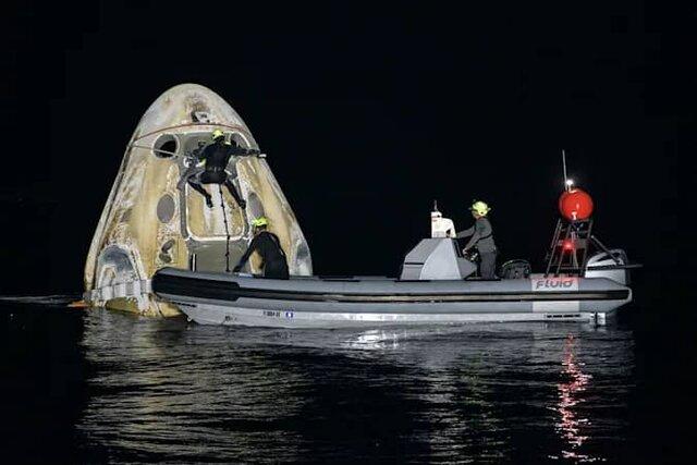 ماموریت کرو-1 رکورد ماندگاری در فضا را شکست