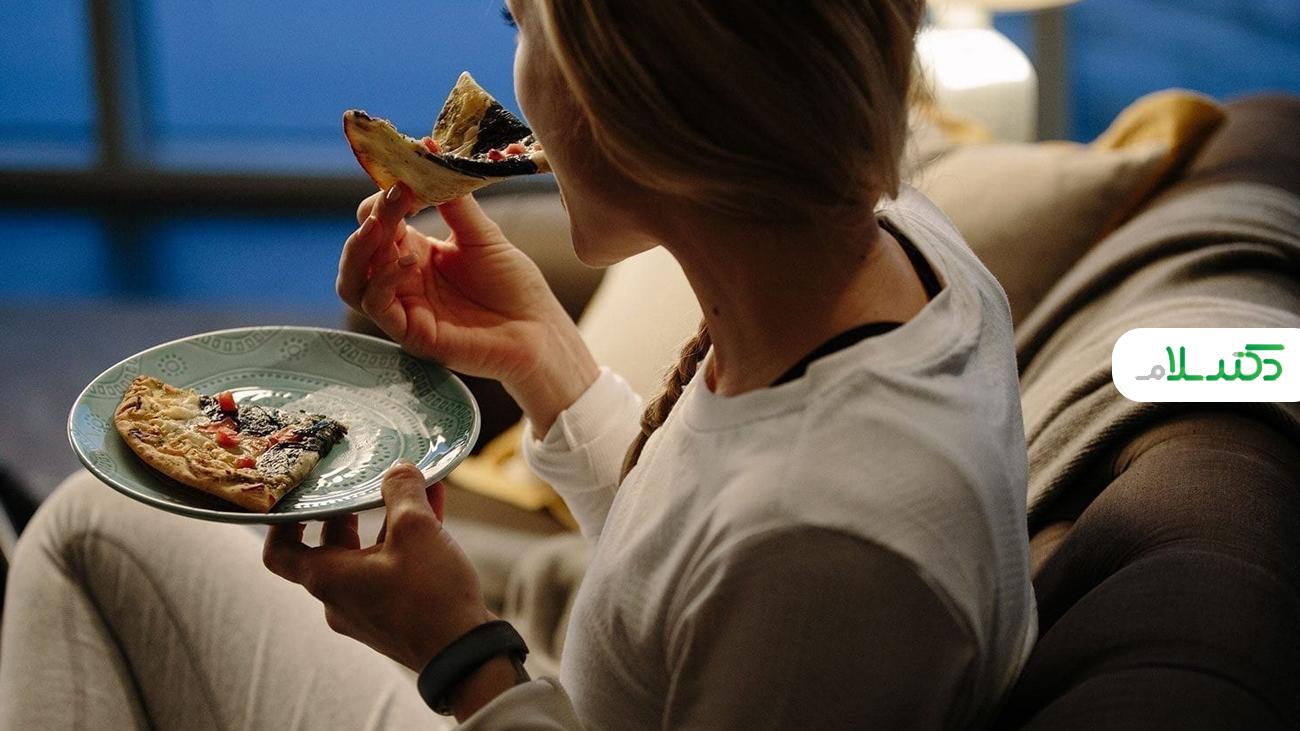 چگونه ولع شبانه غذا خوردن را کنترل کنیم؟