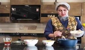 آموزش پخت خورشت بهاری با دستور ویژه فاطمه گودرزی