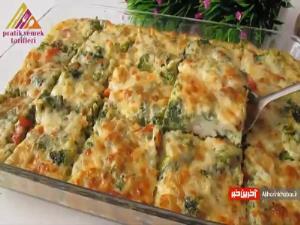 آموزش تهیه خوراک سبزیجات مخصوص