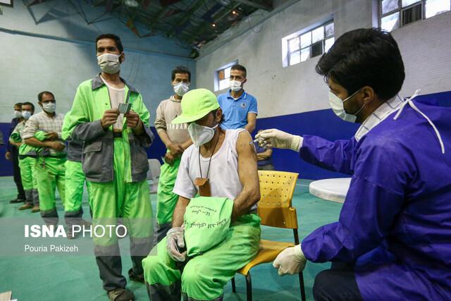 سهمیه واکسن پاکبانان به مدیران شهری قزوین تزریق نشده است