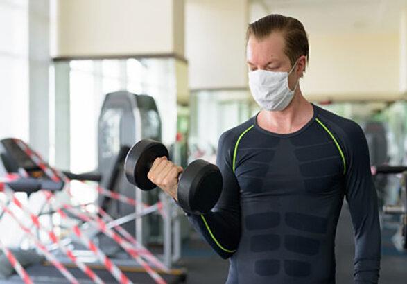 ورزش کردن همراه با ماسک خطرناک است
