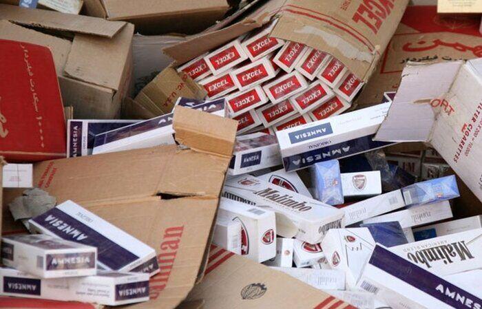 ۹۰ هزار نخ سیگار قاچاق در بروجرد کشف شد
