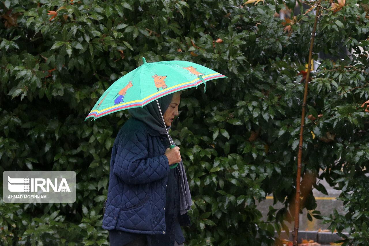۳۱ میلی متر باران در بجنورد بارید