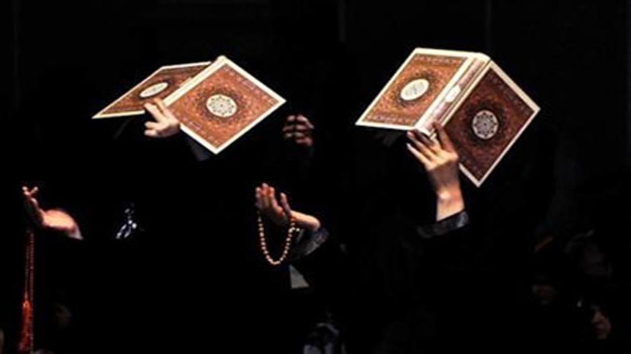 برگزاری مراسم شبهای قدر در فضای باز امامزادگان کرمان