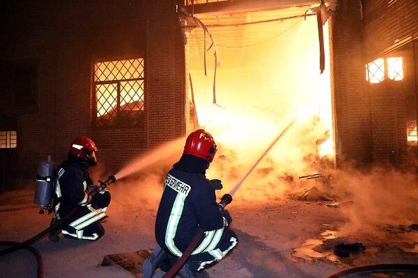 آتشسوزی یک منزل مسکونی در نظرآباد