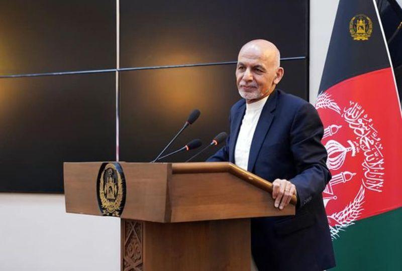 اشرف غنی: صلح نهایی در افغانستان پس از خروج نیروهای خارجی محقق میشود