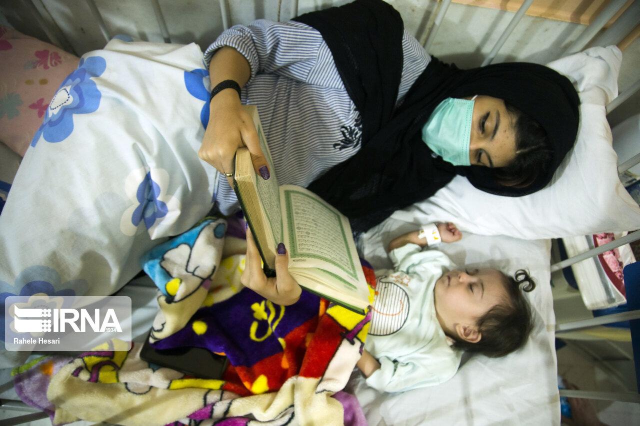 مراسم احیاء شب بیستو یکم رمضان در بیمارستانهای گرگان