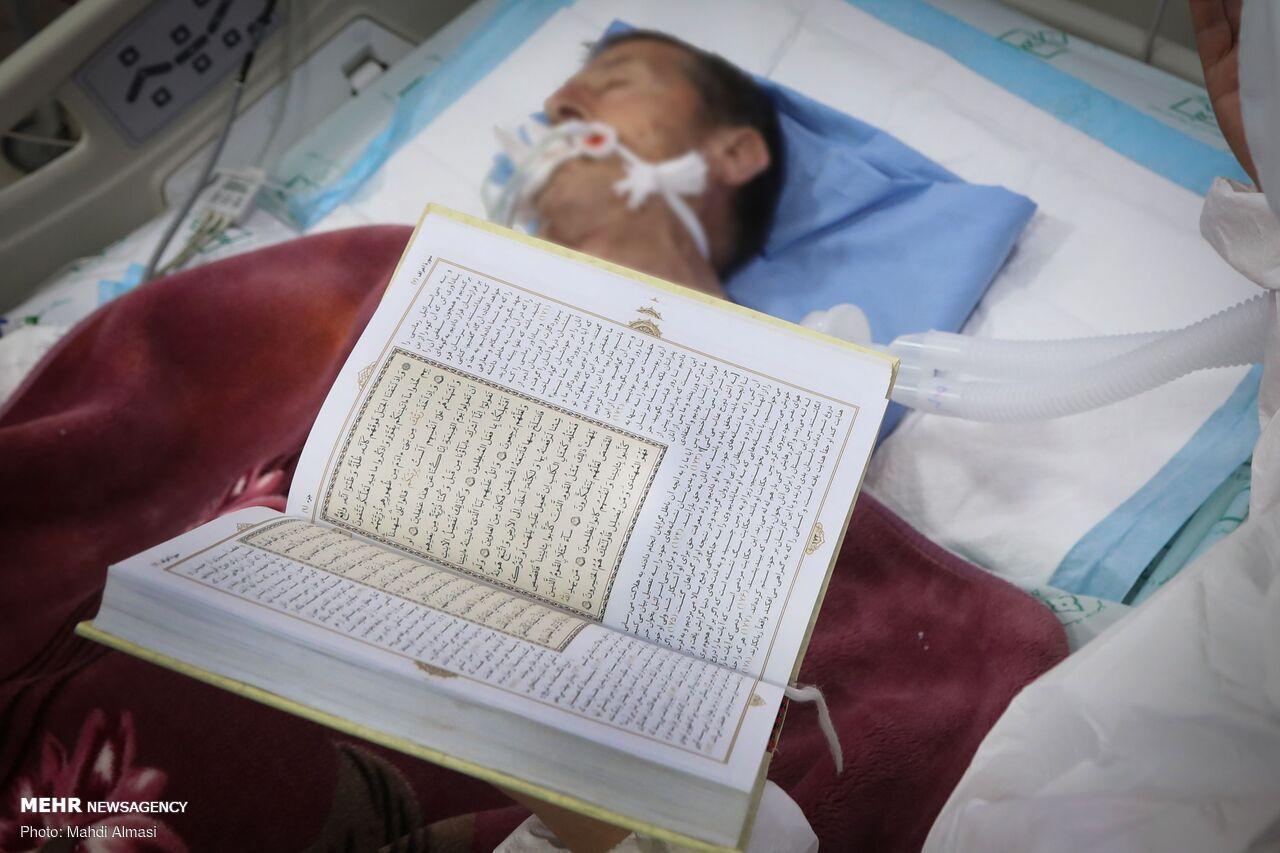 احیای کادر درمان به نیابت از بیماران کرونایی