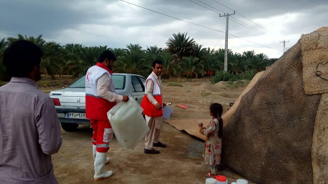 امدادرسانی به ۱۰۹ آسیب دیده سیل در سیستانوبلوچستان